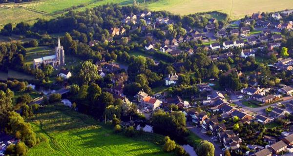 Aerial View of Bramford