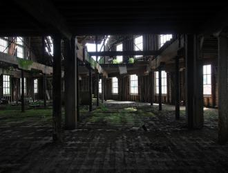 Haunting image of Fison's warehouse, courtesy of derelictplaces.co.uk