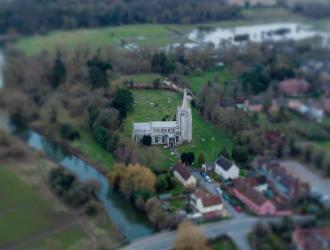 St Marys from the air