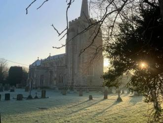 St. Marys frosty morning